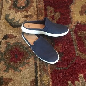 UGG Navy Backless Sneakers Mules 8